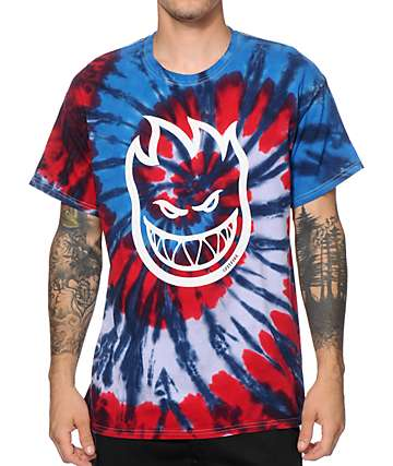 Spitfire Bighead Tie Dye T-Shirt
