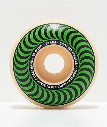 Spitfire Formula Four Classic 52mm 99a Skateboard Wheels