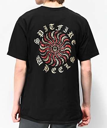 Spitfire Guy Mariano Pro Black T-Shirt
