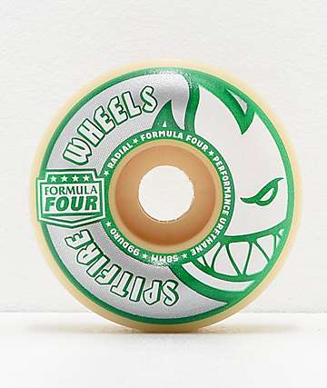 Spitfire Kader Formula Four Radials 58mm 99a Skateboard Wheels