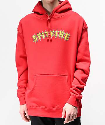Spitfire Two Stroke Red Hoodie