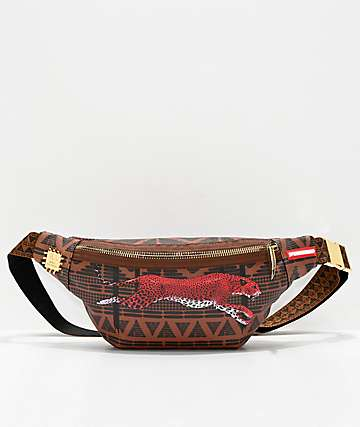 Sprayground Leopards In Paris Fanny Pack