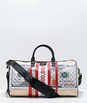 Sprayground Money Band Duffle Bag