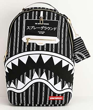 Sprayground Reverse Sharks In Paris Backpack
