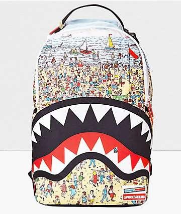 Sprayground Waldo Shark mochila