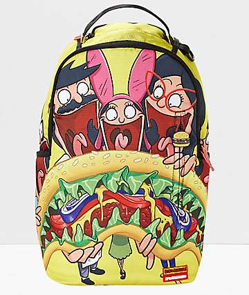 Sprayground x Bob's Burgers Shark Backpack
