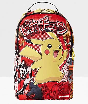Sprayground x Pokemon Pikachu mochila