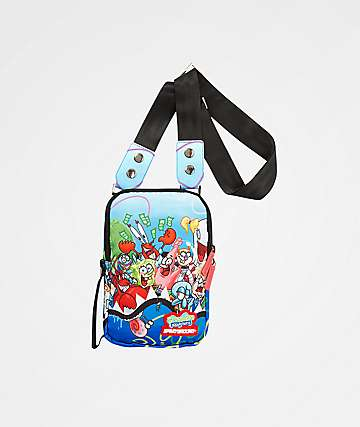 Sprayground x Spongebob Squarepants Shark Shoulder Bag