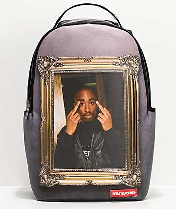 Sprayground x Tupac Golden Boy Backpack