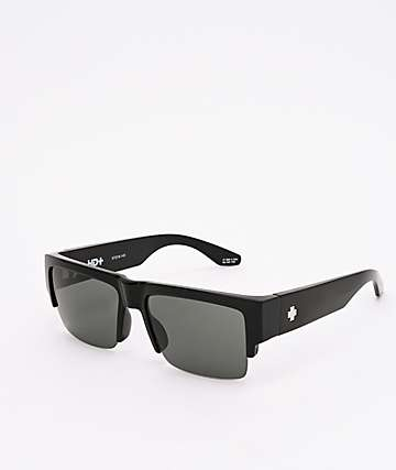 Spy Cyrus 5050 Black & HD Plus Gray Green Sunglasses