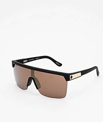 Spy Flynn 5050 HD Plus Gold Sunglasses