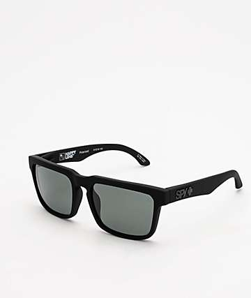 Spy Helm Happy gafas de sol polarizadas en gris-verde