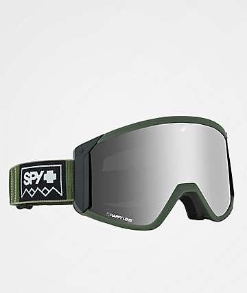 Spy Raider Deep Winter Olive Snowboard Goggles