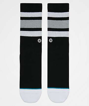 Stance Boys Boyd 4 Black Crew Socks