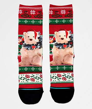 Stance Boys Pierre Polar Bear Crew Socks