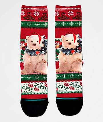 Stance Boys Pierre Polar Bear Crew Socks