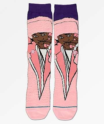 Stance Cam'ron calcetines rosas