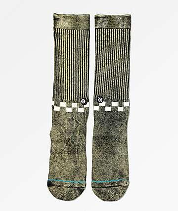 Stance Checkness Black Crew Socks