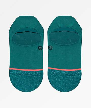 Stance Glowing Teal Super Invisible 2.0 No Show Socks