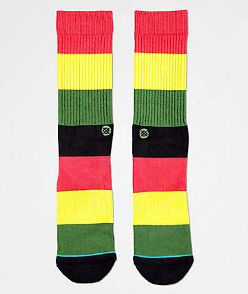 Stance Matal Rasta Crew Socks