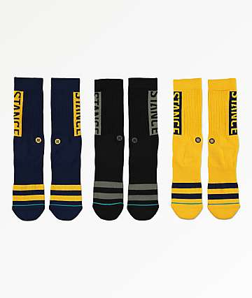 Stance OG Workwear 19 3 Pack Crew Socks
