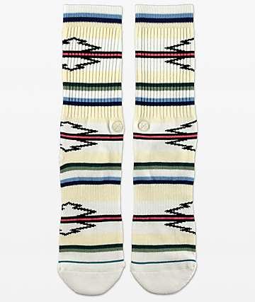 Stance Odessa White Stripe Crew Socks