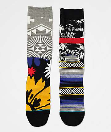 Stance Two By Five 10 Years Crew Socks