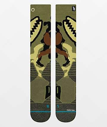 Stance x Crab Grab Camo Snowboard Socks
