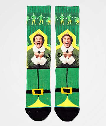 Stance x Elf I Know Him Crew Socks