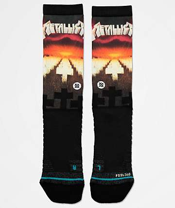 Stance x Metallica Master Of Puppets Crew Socks