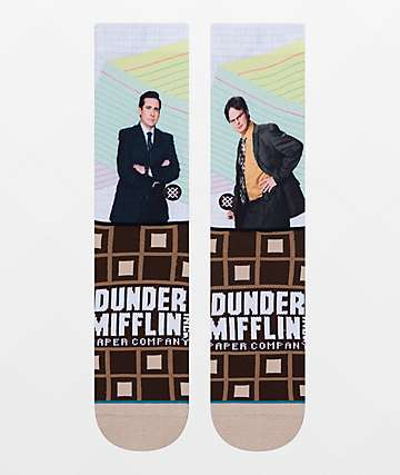 Stance x The Office Regional Manager Crew Socks