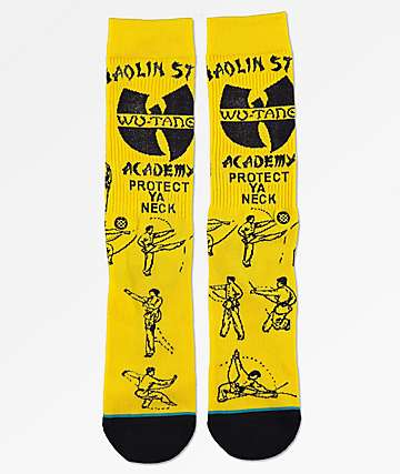 Stance x Wu-Tang Protect Ya Neck calcetines