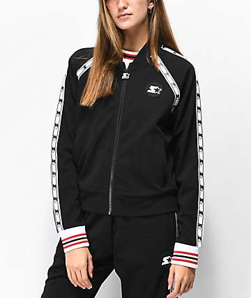 Starter Taped Black Track Jacket