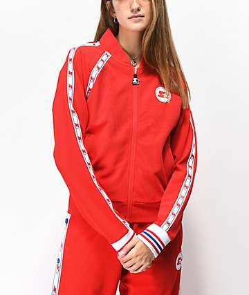 Starter Taped Red Track Jacket