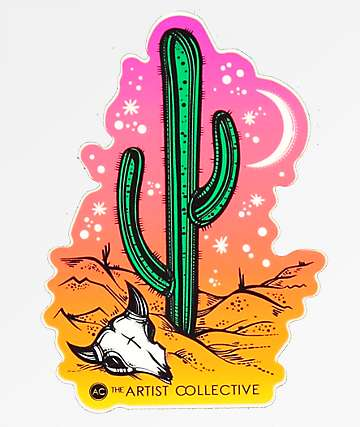 Stickie Bandits Desert Night Sticker