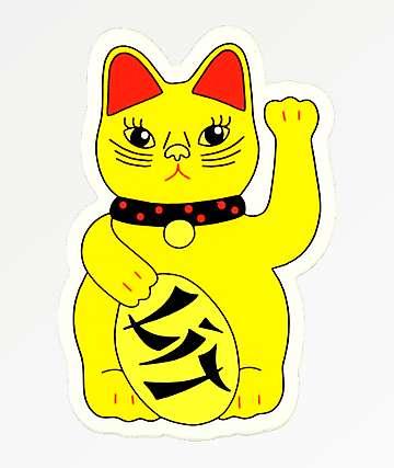 Sticky Bandits Litty Kitty Sticker