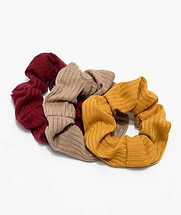 Stone + Locket Autumn paquete de 3 coleteros