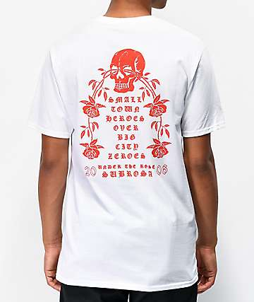 Subrosa Heroes White T-Shirt
