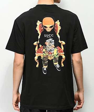 Succ Lil Mayo Throne Black T-Shirt