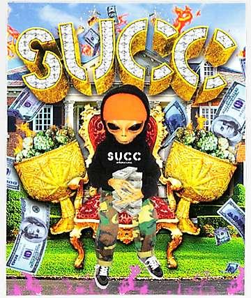 Succ Space Kush Sticker