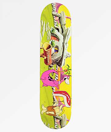 "Superior Flintstones Steak 7.75"" Skateboard Deck"