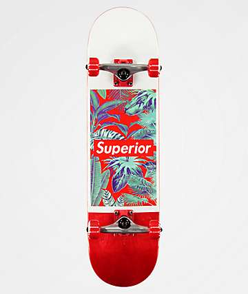 "Superior Jungle 8.0"" Skateboard Complete"