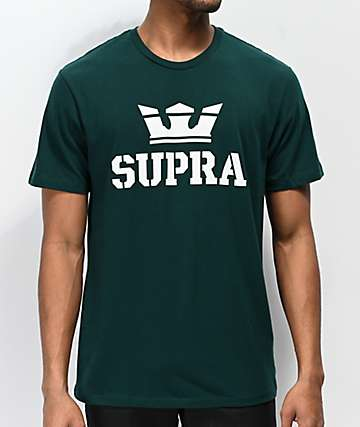 Supra Above Regular Green T-Shirt