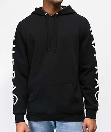 Supra All Caps Black Hoodie