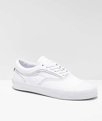 Supra Hammer VTG White Skate Shoes
