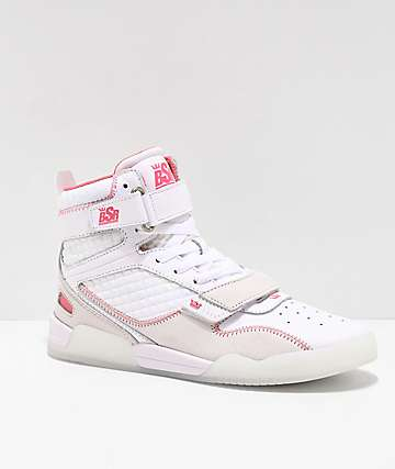 Supra x By Samii Ryan Breaker White Skate Shoes