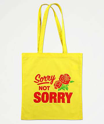 Swallows & Daggers Sorry Not Sorry Tote Bag