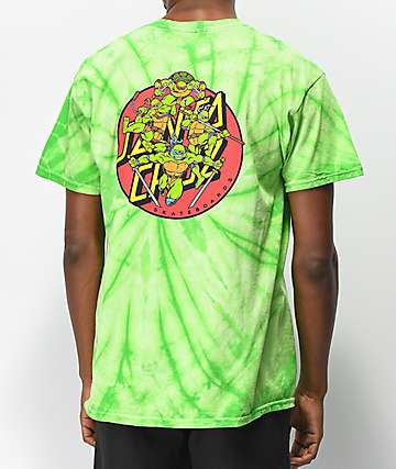 TMNT x Santa Cruz Turtle Power Green T-Shirt