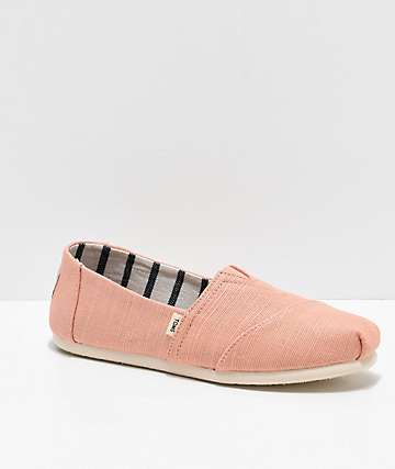 TOMS Classic Alpargata Pink Shoes