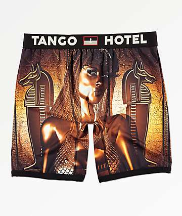 Tango Hotel Golden Goddess calzoncillos bóxer
